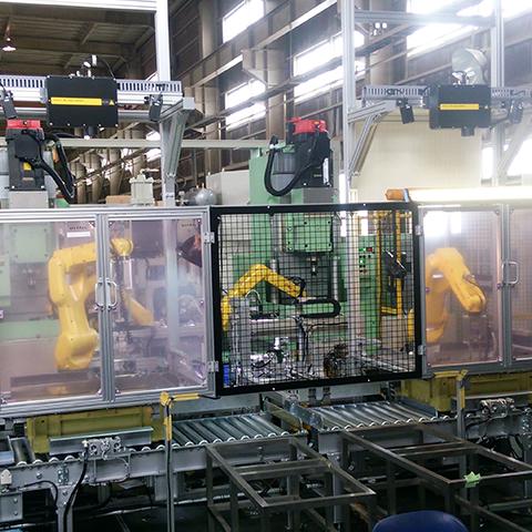 ロボットシステム導入実績